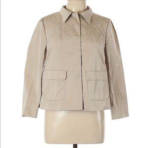Zara Woman large tan blazer